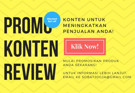 Promo Konten Review Bulan Oktober!