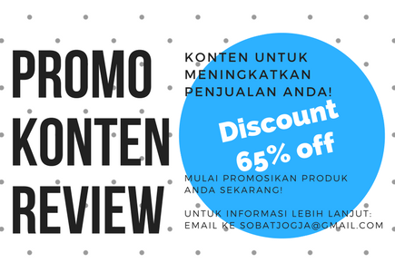 Promo Konten Review Bulan November!