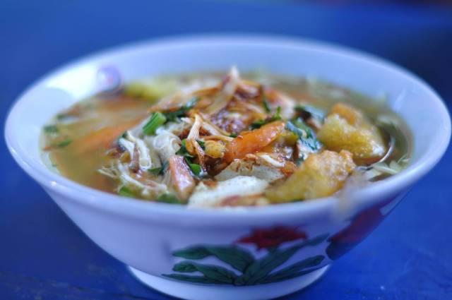 kuliner khas Jogja Soto Lenthok
