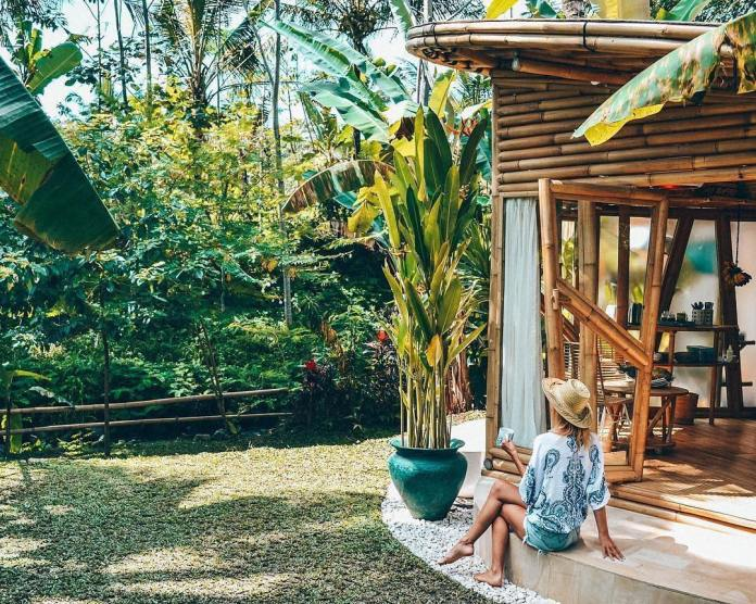 Hideout Light Room Bali Eco Bamboo Home