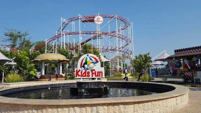 Rekreasi ke Kids Fun Yogyakarta